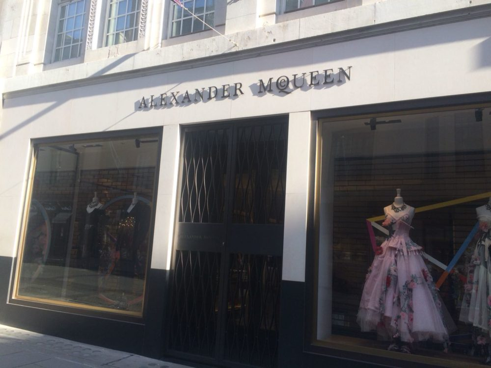 998a84d244a6 Alexander McQueen moves to new home on Old Bond St