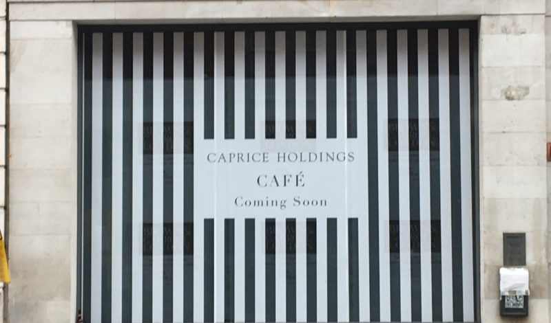 Caprice Holdings CAFE