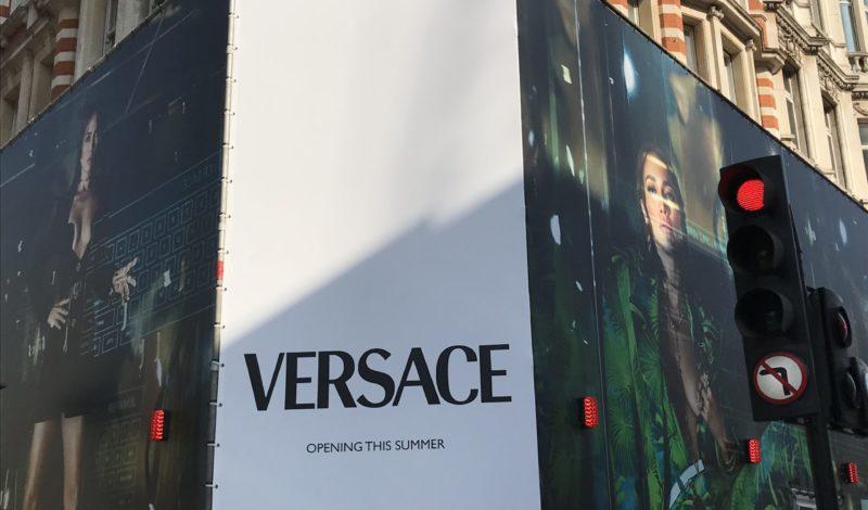 Versace returns to Mayfair