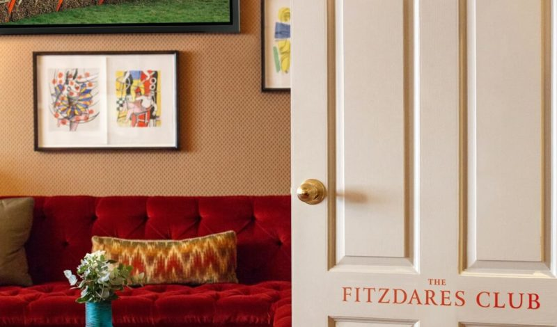 Opening soon, The Fitzdares Club